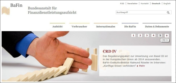 Bafin_Homepage
