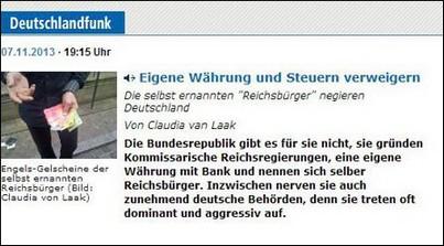 The Local nimmt irrtümlich an, es gebe im deutschen Recht eine ...