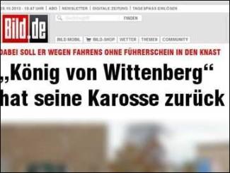 Der Deutschlandfunk weist auf die Untätigkeit der Behörden hin.