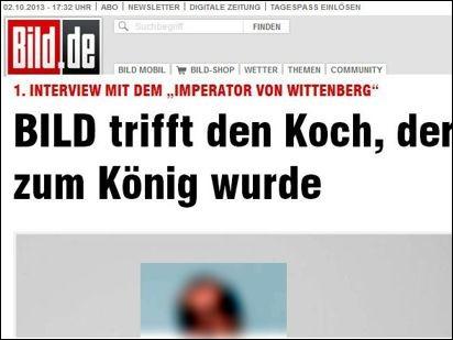 Koch_als_Koenig