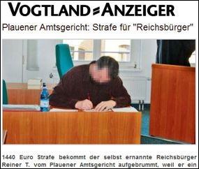 Amtgericht verurteilt Reichsdeppen