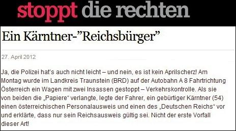 Reichsdepp in Kärnten