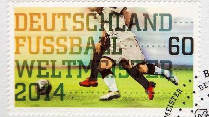 WM Briefmarke 2014