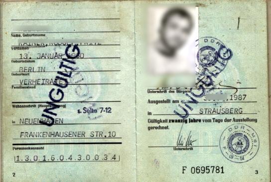 DDR-Ausweis