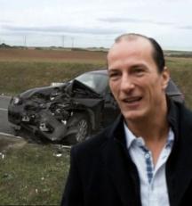 Autounfall Peter Fitzek