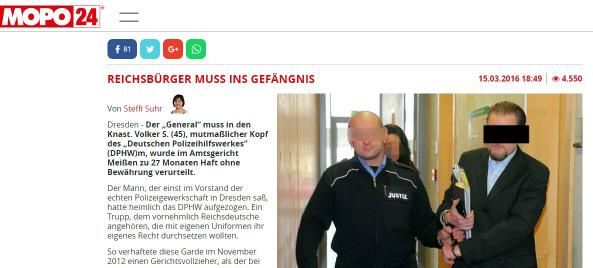 Volker Schöne vor Gericht