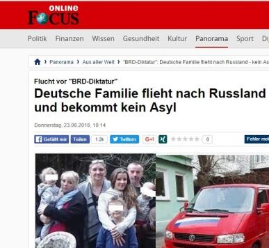 Reichsbürger: Flucht nach Russland!