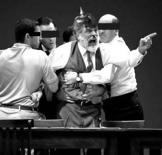 Aggressiver Reichsbürger vor Gericht