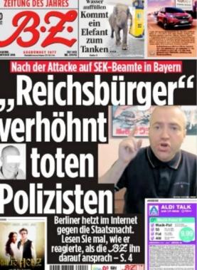 Dennis Ingo Schulz der Reichsbürger