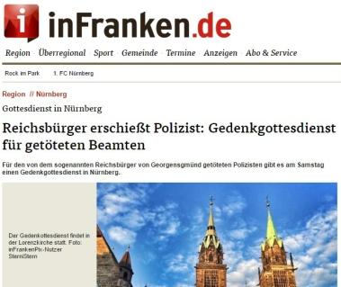 Reichsbürger Mord an Polizisten