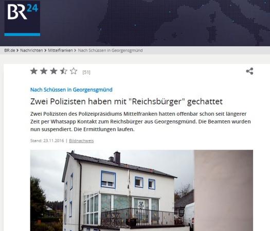 Reichsbürger ermorden Polizisten