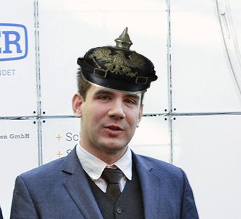 Dennis Gaidetzka ein überzeugter Reichsbürger
