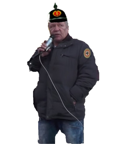 Adrian Ursaches Nazi Unterstützer