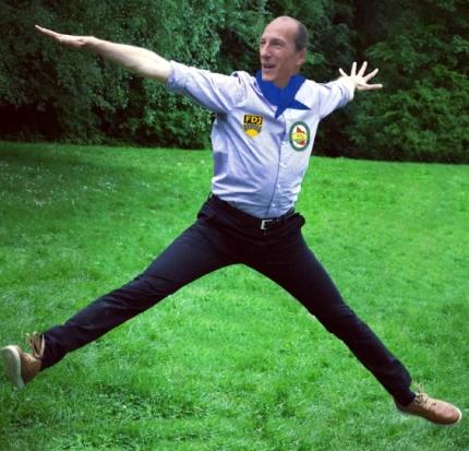 Kommt aus dem Gefängnis frei: Peter Fitzek!